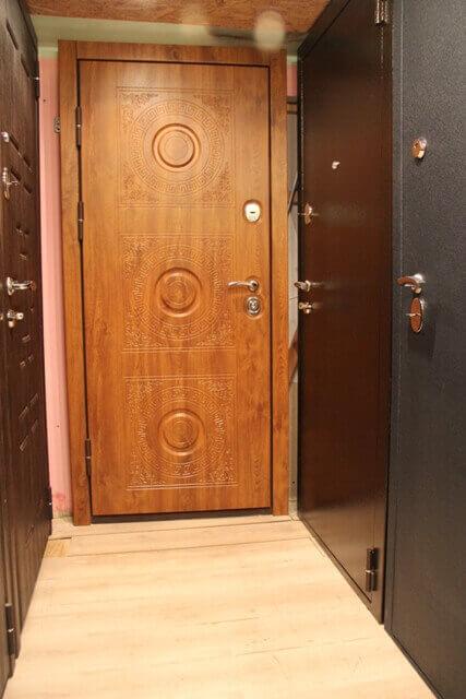 двери стальные входные двупольные прайс