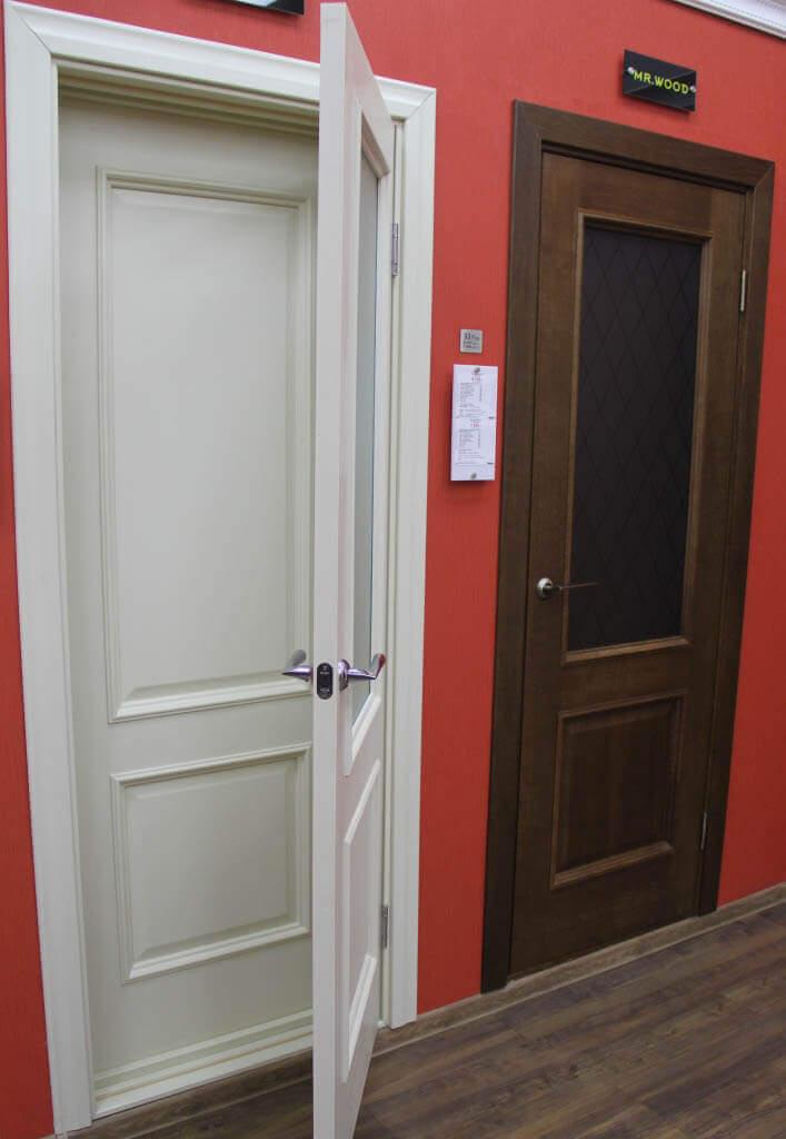 Двери из массива дуба (дубовые) межкомнатные купить от